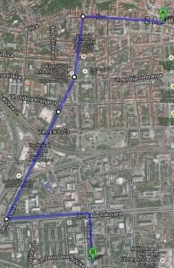 Trg FFZG tramvaj